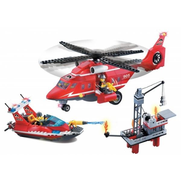 Конструктор Brick Пожарная охрана 404 деталей
