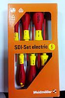 Отвертка SDI Set S2.5-5.5/PH1/2 Набор 6 шт. Weidmuller