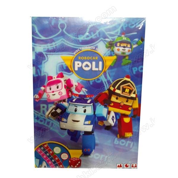 Игра настольная бродилка Робокар Поли robokar poli