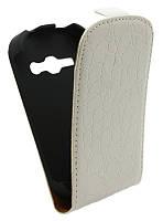 Чехол-книжка для Samsung S6812 /К35 белая
