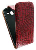 Чехол-книжка для Samsung I9150 /К33 красная с силиконом