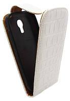 Чехол-книжка для Samsung I9190 белая с силиконом