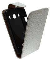 Чехол-книжка для Samsung S5690 /К35  белая с силиконом