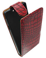 Чехол-книжка для Sony L36Н Xperia Z /К33 красная