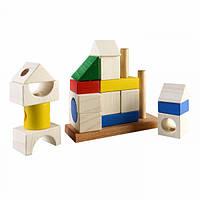 Конструктор пирамидка Усадьба развивающая деревянная игрушка