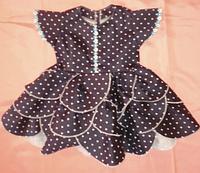 Летнее платье - сарафан с юбкой цветок для девочки