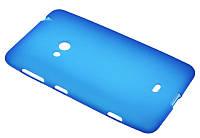 Силиконовый чехол для Nokia 625 синий