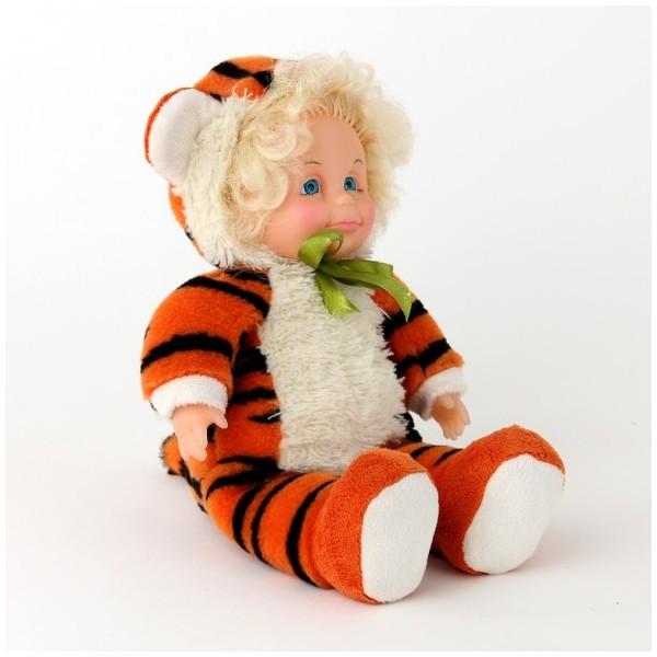 Кукла мягконабивная  КОСТЮМ ТИГРЁНОК  (35см)