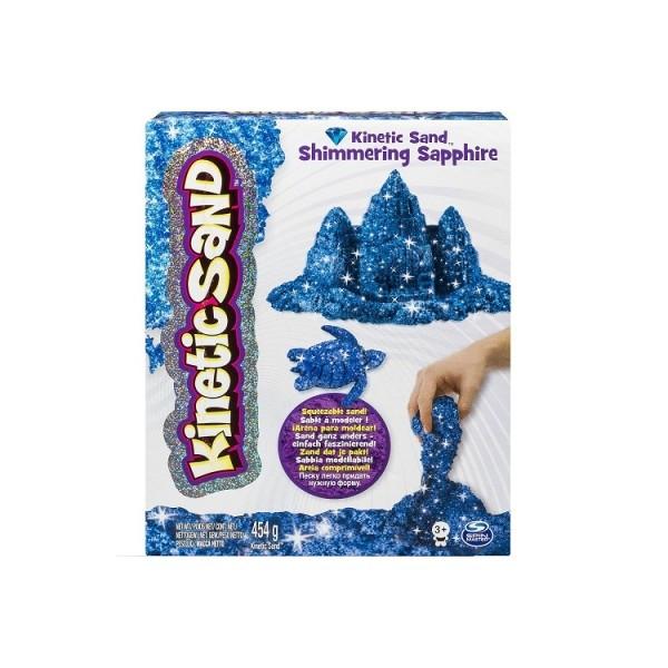 Kinetic Sand Кинетический песок для детского творчества METALLIC (сини