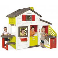 Дом для друзей с чердаком и летней кухней 217х155х172 см, 3+