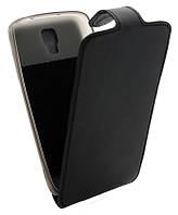 Чехол-книжка для Samsung I9295 B45 Classic черная кожа с силиконом