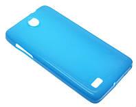 Силиконовый чехол для Lenovo A656/A766 синий