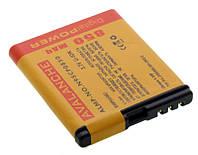 Аккумулятор для Nokia N78 N95 (8Gb) BL-6F Avalanche Premium 850 mAh