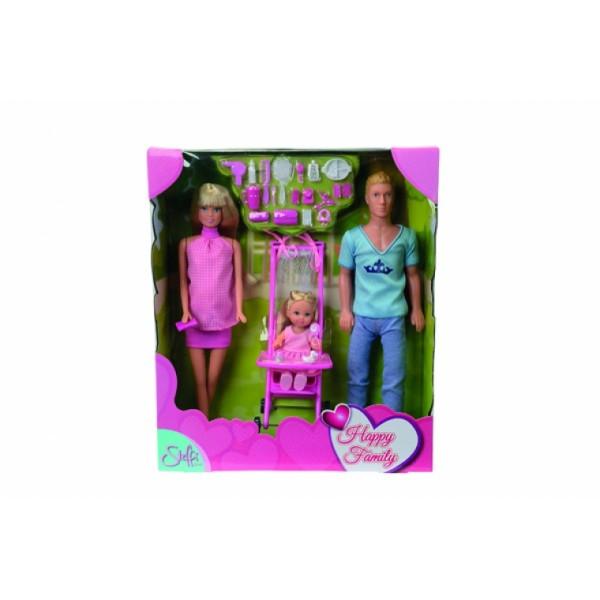 Кукольный набор Штеффи Счастливая семья