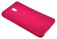 Силиконовый чехол для Lenovo S860 розовый