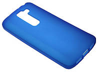 Силиконовый чехол для LG D618 синий