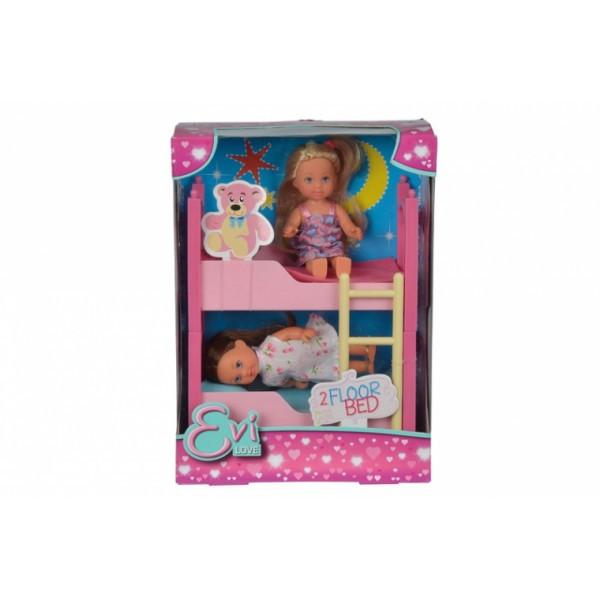 Кукольный набор Эви с двуспальной кроватью