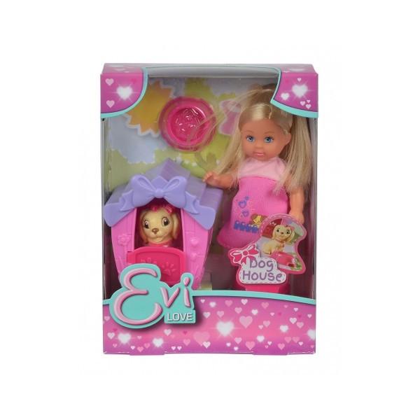 Кукольный набор Эви Дом моего песика с аксессуарами