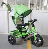 Велосипед трехколесный Tilly Trike (T-364 ЗЕЛЕНЫЙ)