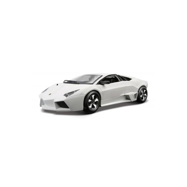 Автомодель LAMBORGHINI REVENTON  (ассорти серый металлик, белый матовый 1:24)