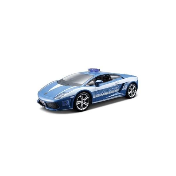 Автомодель LAMBORGHINI GALLARDO LP560 POLIZIA (голубой 1:32)