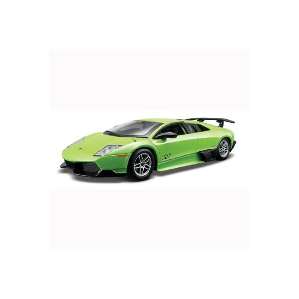 Авто-конструктор  LAMBORGHINI MURCIELAGO LP670-4 SV (зелёный 1:24)