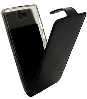 Книжка Huawei 3C B45 Classic черная кожа с силиконом