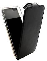 Чехол-книжка для iPhone 6G B45 Classic черная кожа с силиконом