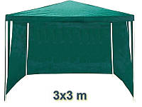 Садовый павильон шатер 3х3 со 3 стенками