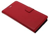 Чехол-книжка для Lenovo S860 красная