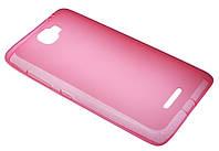 Силиконовый чехол для Lenovo S810 розовый New Line