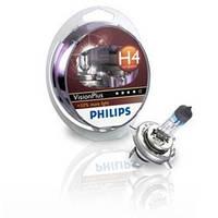 Автолампы Philips Vision Plus Н1 — это на 60% больше света!