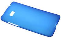 Силиконовый чехол для HTC Desire 600 синий