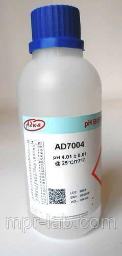 Калибровочный раствор ADWA AD7004 для РН-метров РН 4,01±0,01 Венгрия. 230 m