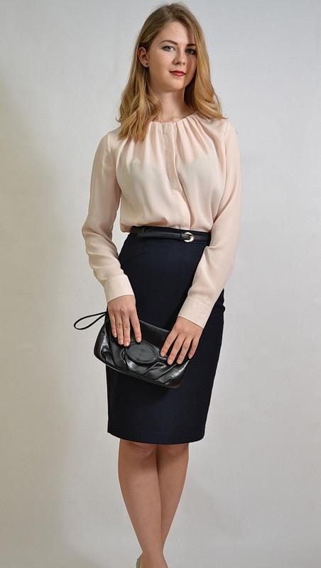 f8afe1dcbca Деловая женская блузка