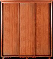 Шкаф-купе трехдверный 220х60х190 см для одежды в спальню, гостиную, прихожую