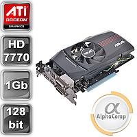 Видеокарта PCI-E ATI Asus HD7770 (1Gb/GDDR5/128bit/HDMI/DVI) б/у