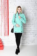 Пальтишко кашемировое демисезонное удлиненное 3 в 1: беременность,  слингоношение, обычное пальто
