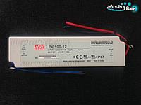 Блок питания Mean Well LPV-100-12. LED драйвер. Светодиодный драйвер. Блок питания светодиодов., фото 1