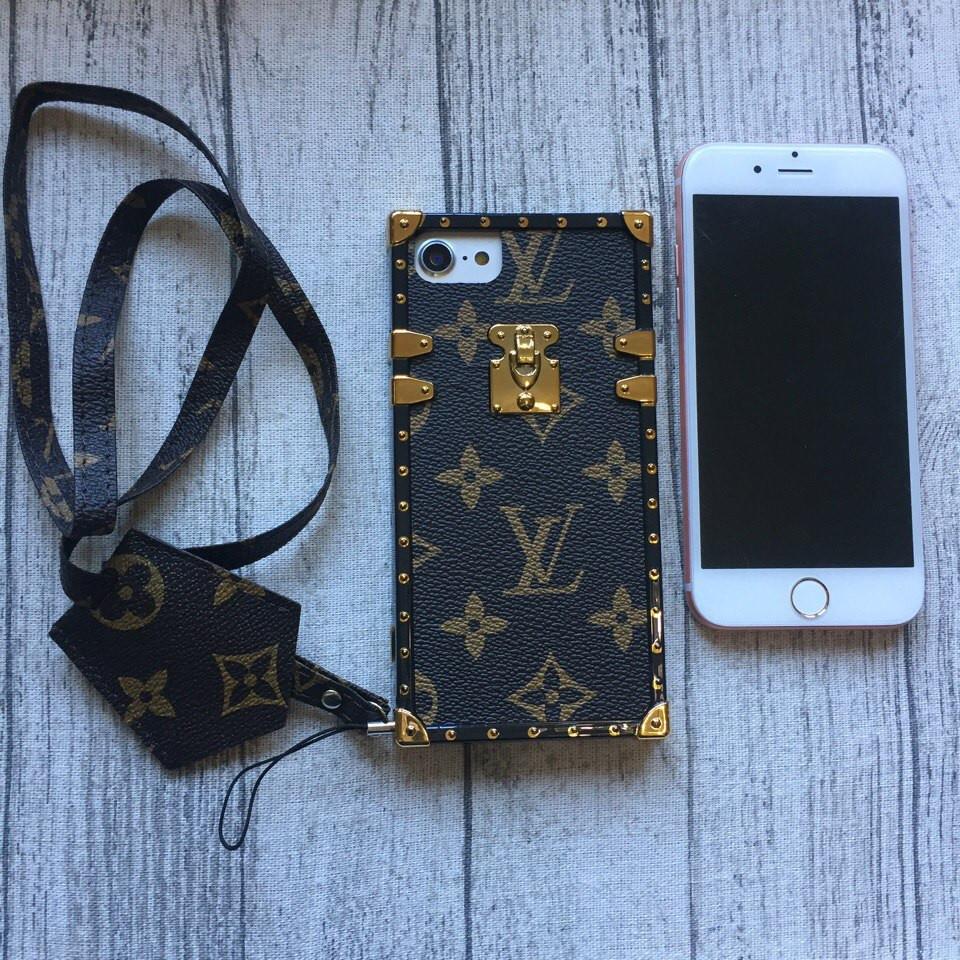 Чехол Louis Vuitton для iPhone 7 силикон