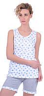 Комплект одежды жен. STARS голубой M