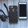 Силиконовый чехол Louis Vuitton для iPhone 7 Plus, фото 2