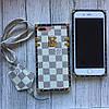 Силиконовый чехол Louis Vuitton для iPhone 7 Plus, фото 3