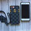 Силиконовый чехол Louis Vuitton для iPhone 7 Plus, фото 4