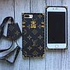 Силиконовый чехол Louis Vuitton для iPhone 7 Plus, фото 5