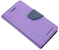 Чехол-книжка для Lenovo Vibe S1 фиолетовая Goospery