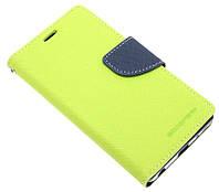 Чехол-книжка для LG Class H650E зеленая Goospery