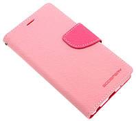 Чехол-книжка для LG Class H650E розовая Goospery