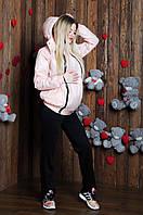 Куртка демисезонная 3в1: беременность, слингоношение, обычная куртка с детским капюшоном, фото 1