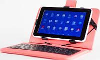 Чехол для планшета Nomi KC1010  10.1'' розовый с клавиатурой